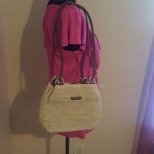 Rosetta straw like purse